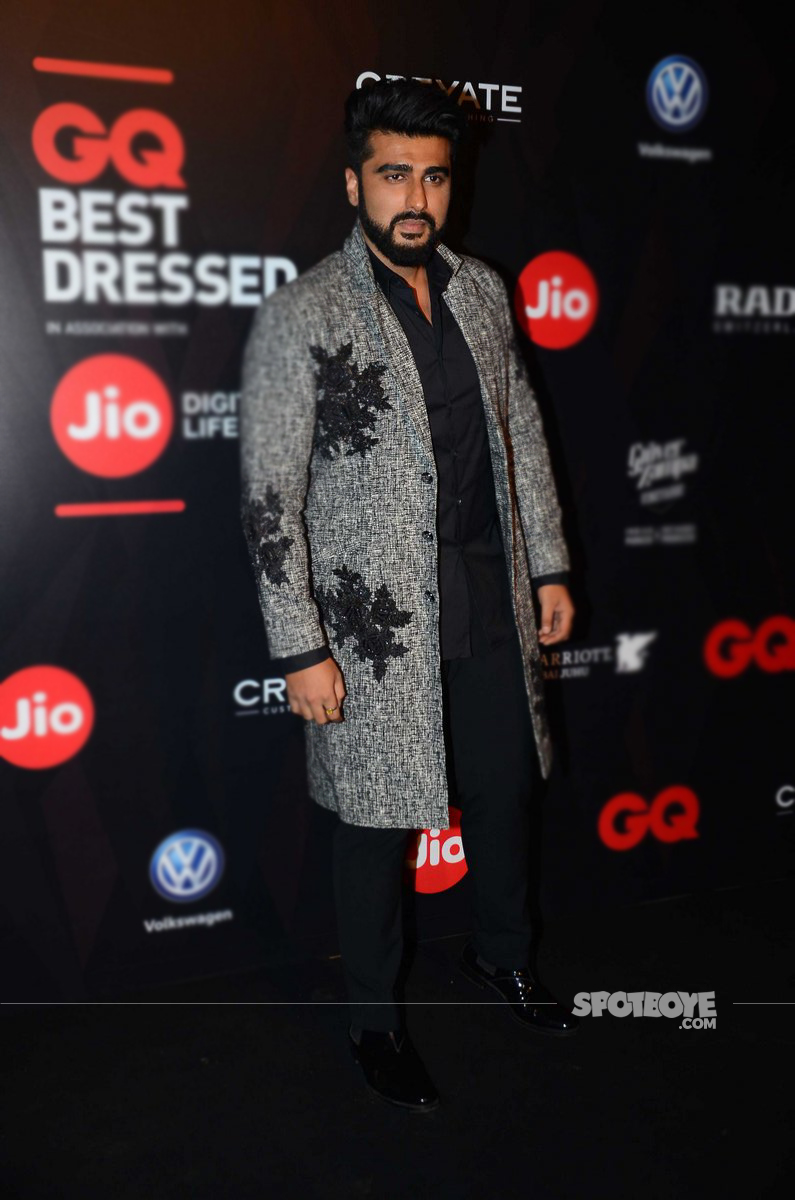 arjun kapoor gq awards