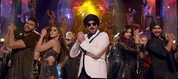 arjun kapoor ileana dcruz anil kapoor and athiya shetty in mubarakan title track