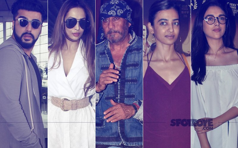 STUNNER OR BUMMER: Arjun Kapoor, Malaika Arora, Jackie Shroff, Radhika Apte Or Aditi Rao Hydari?