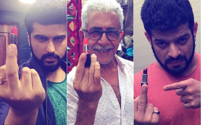 Mancrush Monday: Arjun Kapoor, Naseeruddin Shah, Karan Patel Show The Middle Finger In Support Of Lipstick Under My Burkha