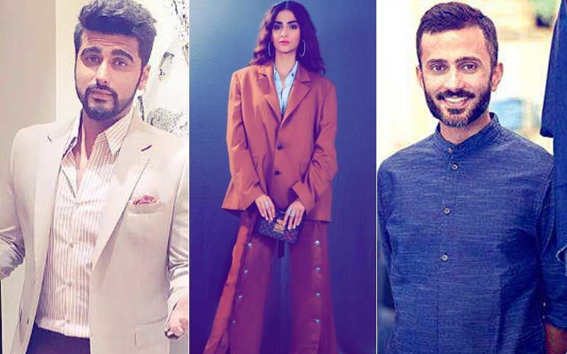 Sonam Kapoor Trolled For Wearing Oversized Suit; Anand Ahuja & Arjun Kapoor Also Mock The Outfit