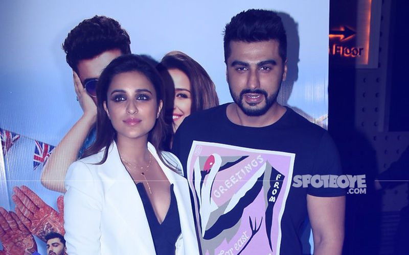 Arjun Kapoor & Parineeti Chopra Wrap Up The Shoot Of Namastey England In Style