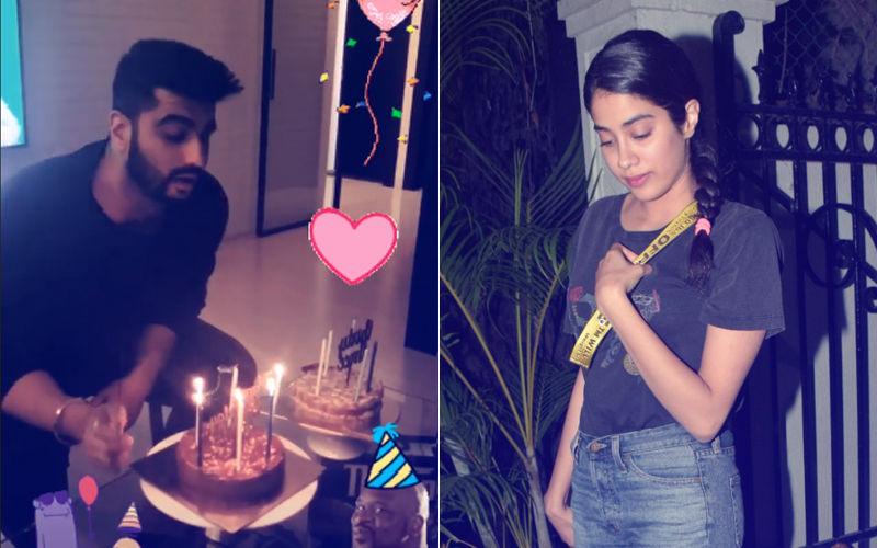 Janhvi Kapoor's Wish For Arjun Bhaiya On His Birthday...
