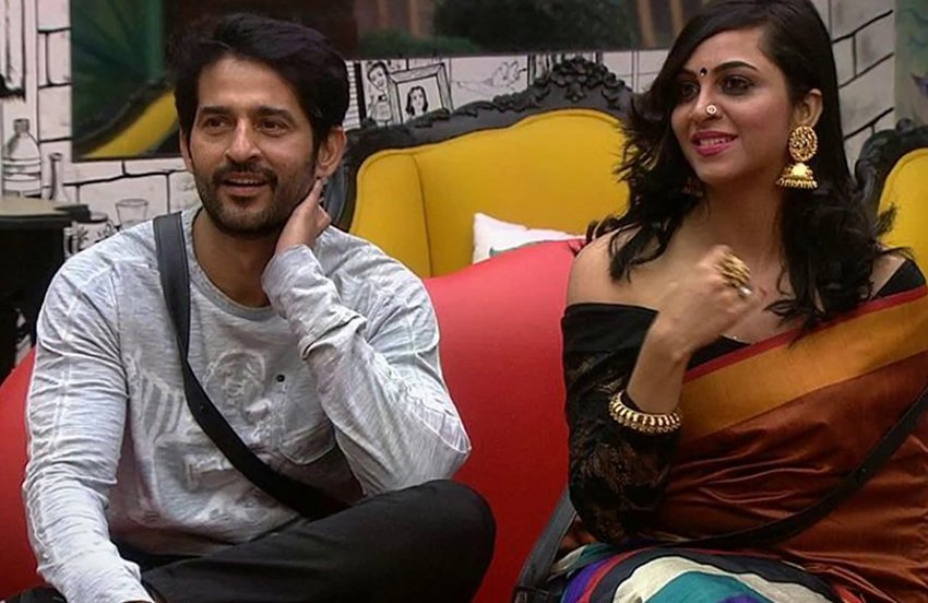 arshi khan and hiten tejwani chemistry in bigg boss 11