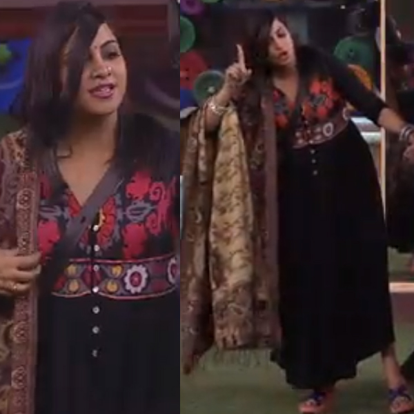 arshi khan in bigg boss 11 house
