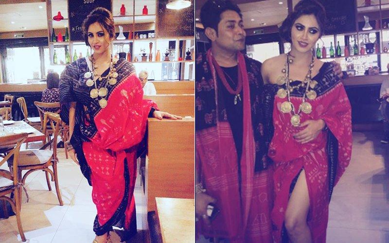 Pics: Arshi Khan Looks Stunning As Showstopper For Sabyasachi Satpathy