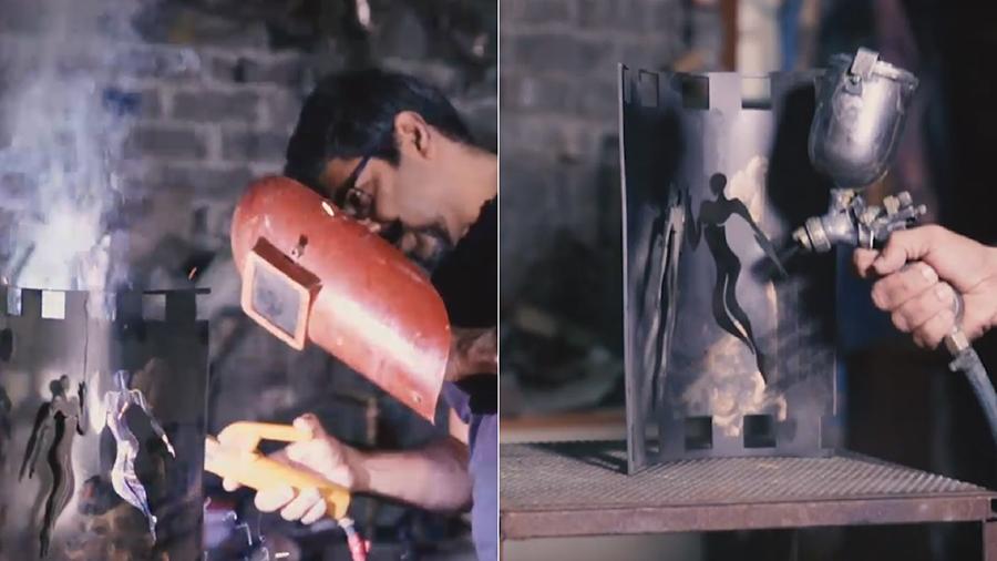 arzaan khambatta spotboye salaams trophy sculptor