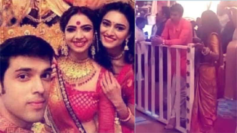 Kasautii Zindagii Kay 2 Pictures Leaked: Erica Fernandes And Parth Samthaan Shoot Durga Puja Sequence