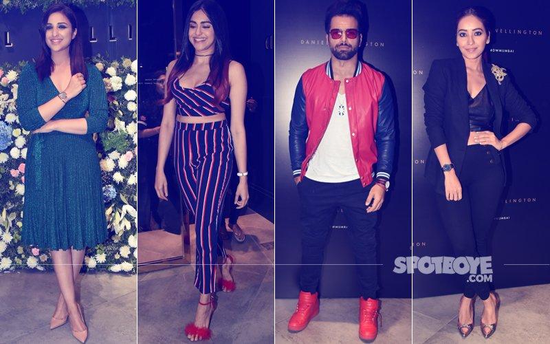 SATURDAY NIGHT FEVER: Parineeti Chopra, Adah Sharma, Rithvik Dhanjani, Asha Negi OOZE CHARM At A Launch Party