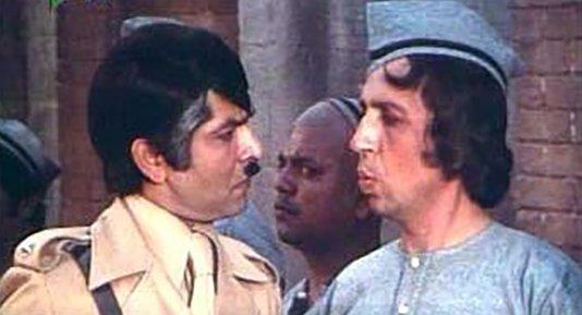 asrani with raj kishore
