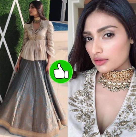 athiya shetty at mohit marwah wedding