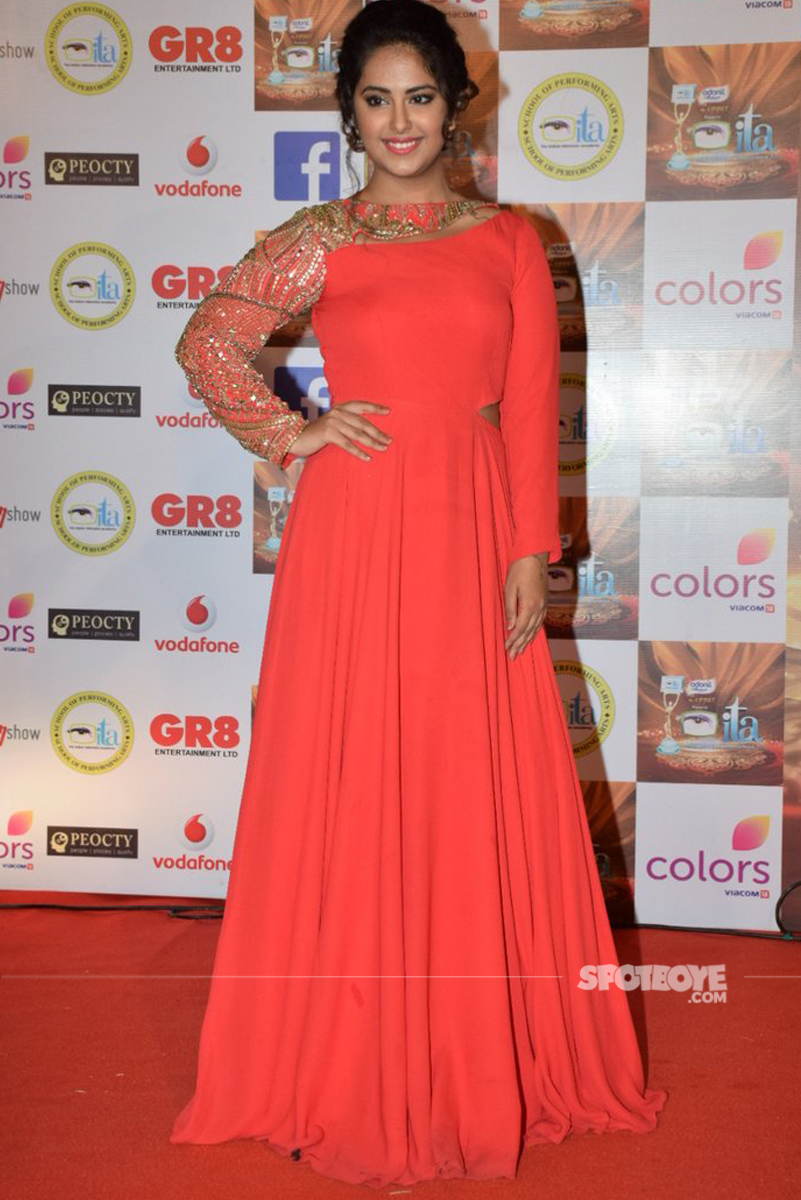 avika gor at the ita awards