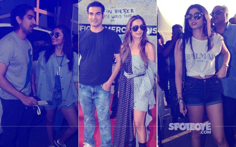 Justin Bieber In Mumbai: Malaika Arora Walks In With Arbaaz Khan,  Alia Bhatt, Jhanvi Kapoor & Khushi Kapoor Among Early Birds