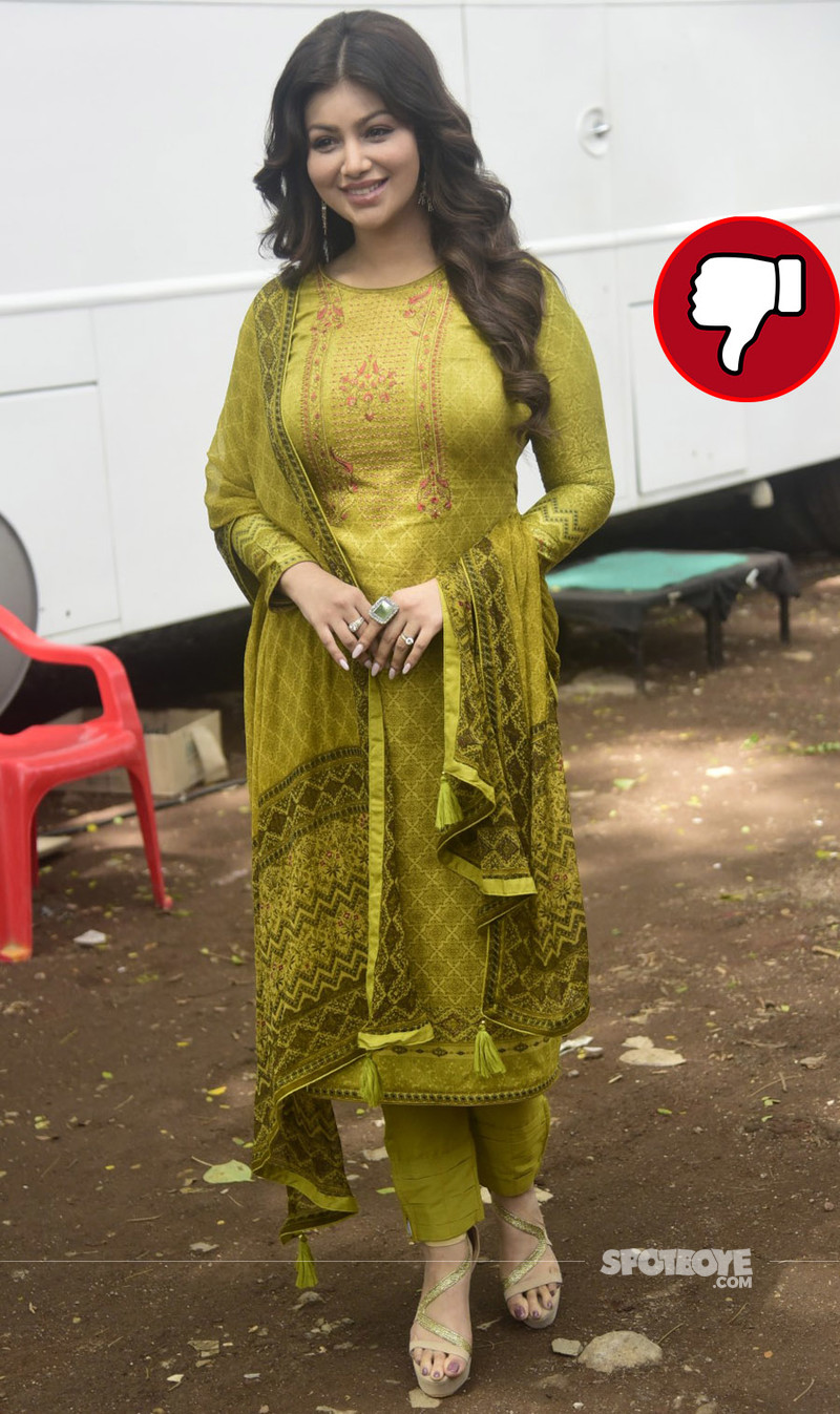 ayesha takia snapped post an ad shoot