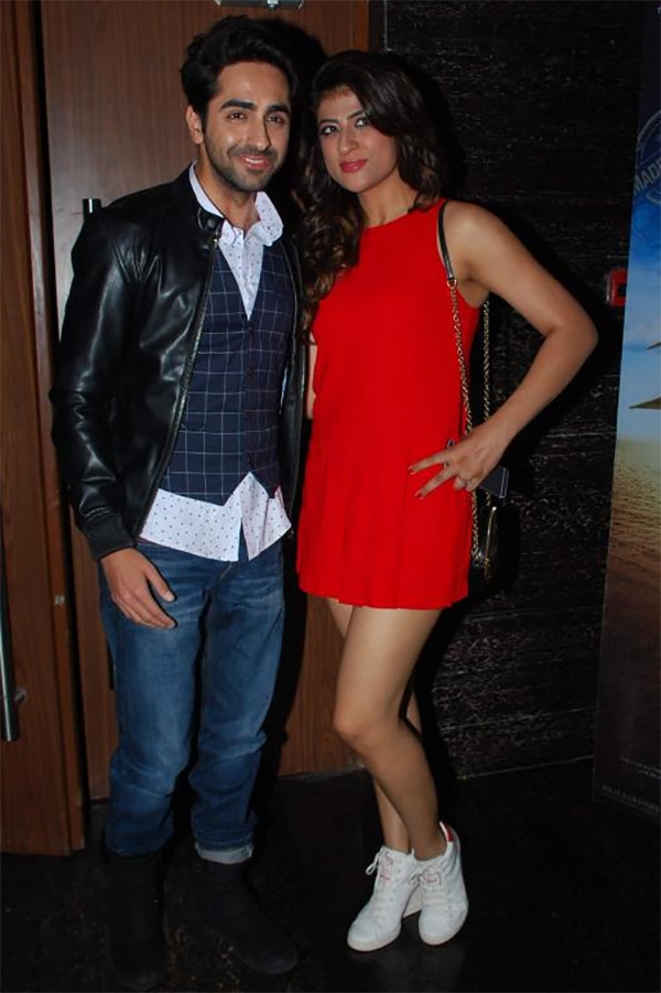ayushmann khurrana with wife tahira kashyap