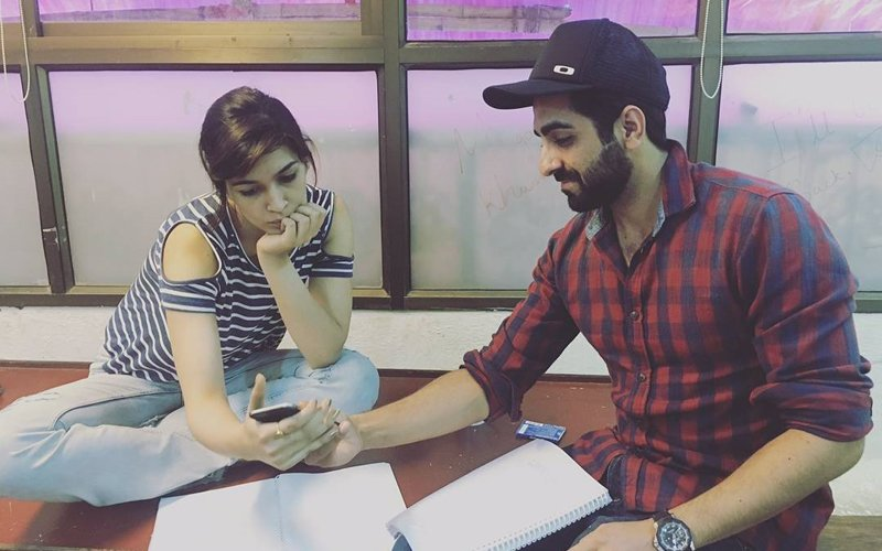 Kriti Sanon and Ayushmann Khurrana Begin Workshops For Bareilly Ki Barfi