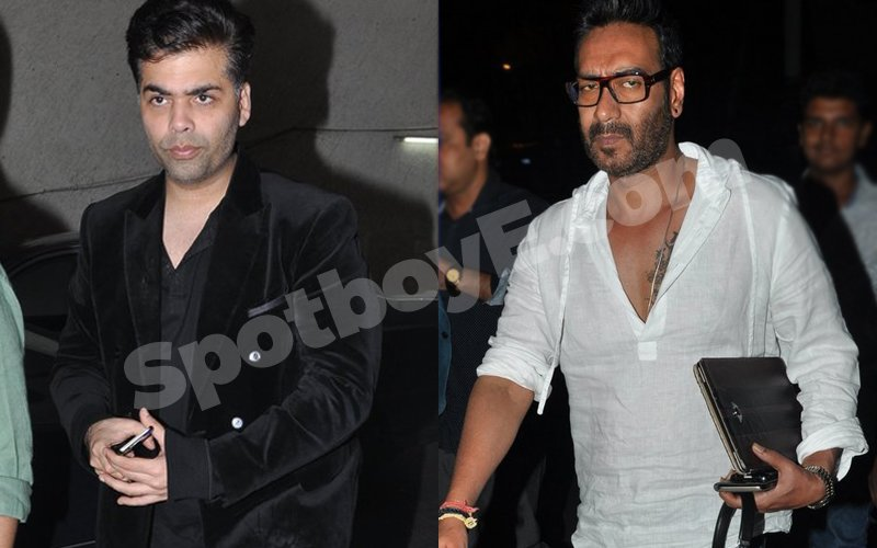 ADHM-Shivaay War Continues: KJo, Ajay Skip Event To Avoid Face-Off