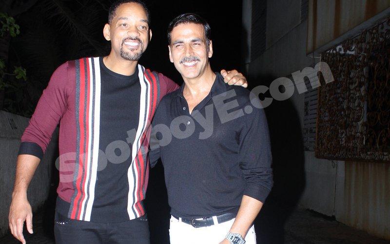 Will Smith, Karan Johar, Varun Dhawan party with Akshay Kumar