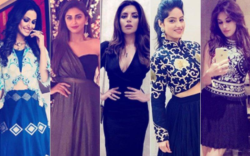 BEST DRESSED & WORST DRESSED Of The Week: Hina Khan, Krystle D'souza, Shama Sikander, Deepika Singh Or Bandgi Kalra?