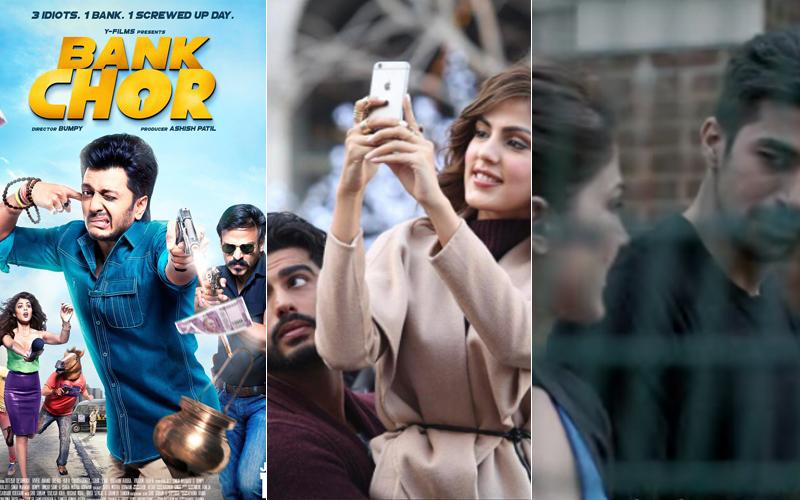 bank chor poster arjun kapoor and rhea and dobaara still