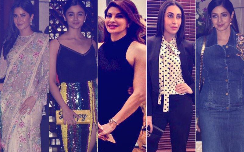 BEST DRESSED & WORST DRESSED At The Ambani Bash: Katrina Kaif, Alia Bhatt, Jacqueline Fernandez, Karisma Kapoor Or Sridevi?