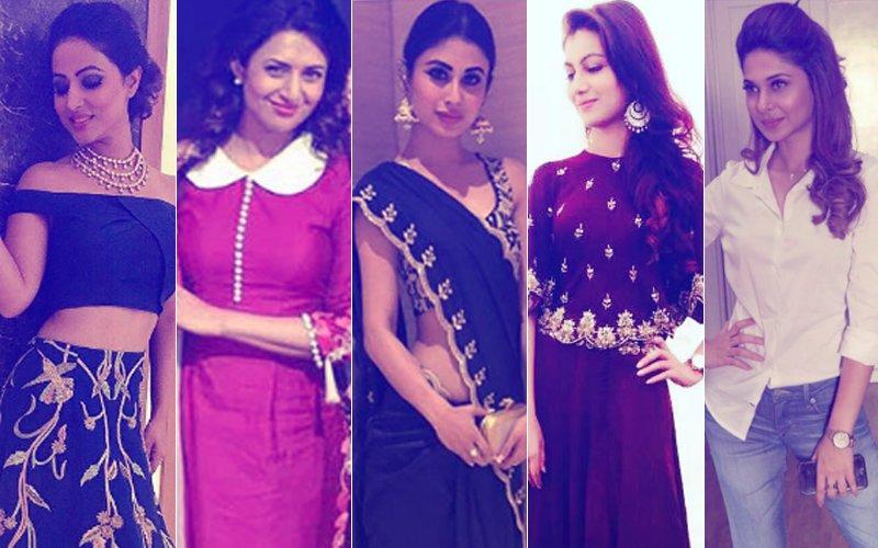 BEST & WORST DRESSED OF THE WEEK: Hina Khan, Divyanka Tripathi, Mouni Roy, Sriti Jha Or Jennifer Winget?
