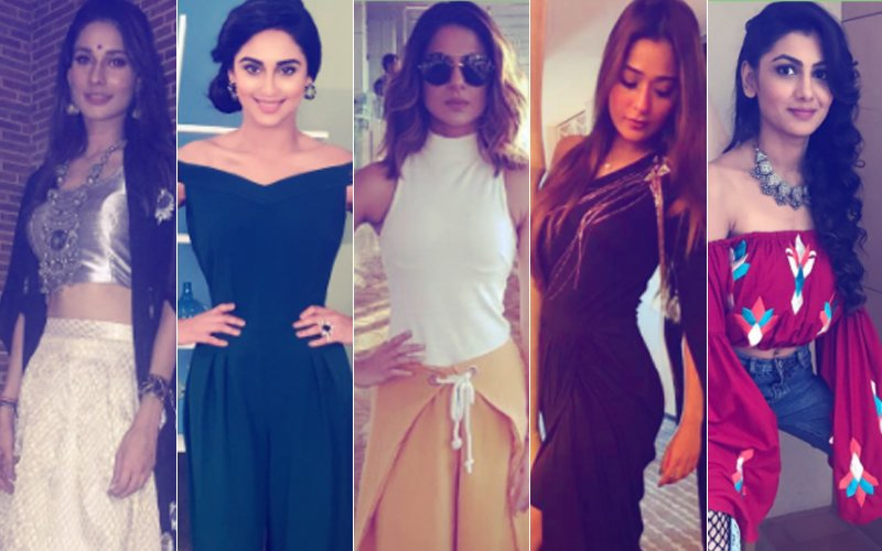 BEST DRESSED & WORST DRESSED Of The Week: Aneri Vajani, Krystle D'Souza, Jennifer Winget, Sara Khan Or Sriti Jha?