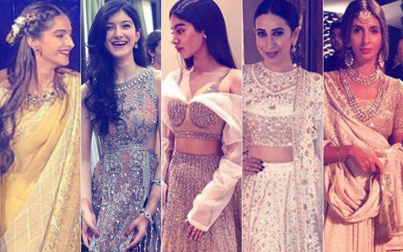 BEST DRESSED & WORST DRESSED At Mohit Marwah's Wedding: Sonam, Shanaya, Khushi, Karisma Kapoor Or Shweta Bachchan Nanda?