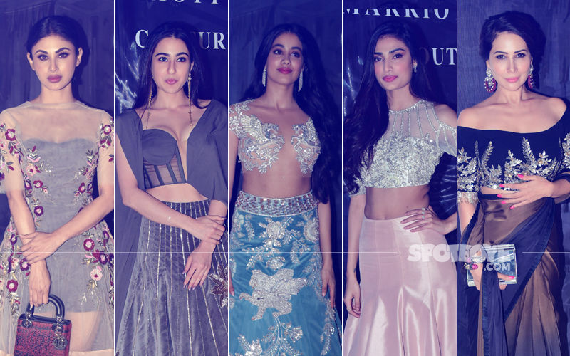 BEST DRESSED & WORST DRESSED At Manish Malhotra's Show: Mouni Roy, Sara Ali Khan, Janhvi Kapoor, Athiya Shetty Or Kim Sharma?