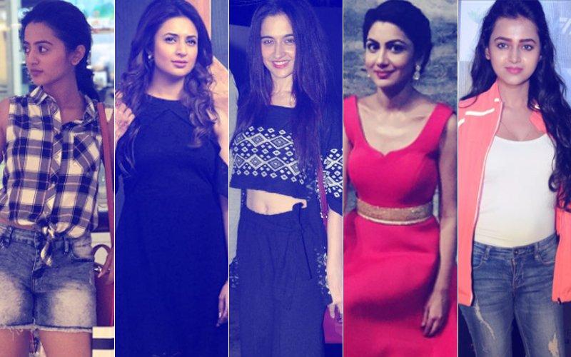 BEST DRESSED & WORST DRESSED Of The Week: Helly Shah, Divyanka Tripathi, Sanjeeda Shaikh, Sriti Jha Or Tejaswi Prakash?