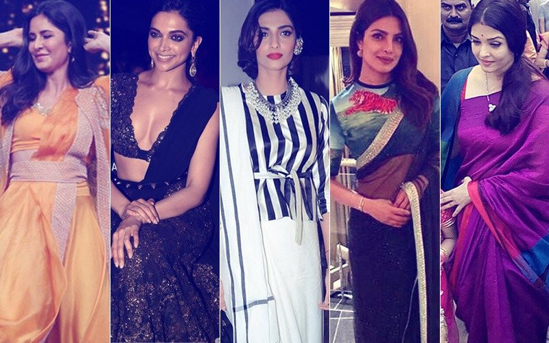 best sarees these celebs wore