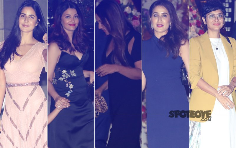 BEST DRESSED & WORST DRESSED At Akash Ambani's Post Engagement Party: Katrina Kaif, Aishwarya Rai, Gauri Khan, Sagarika Ghatge Or Kiran Rao?