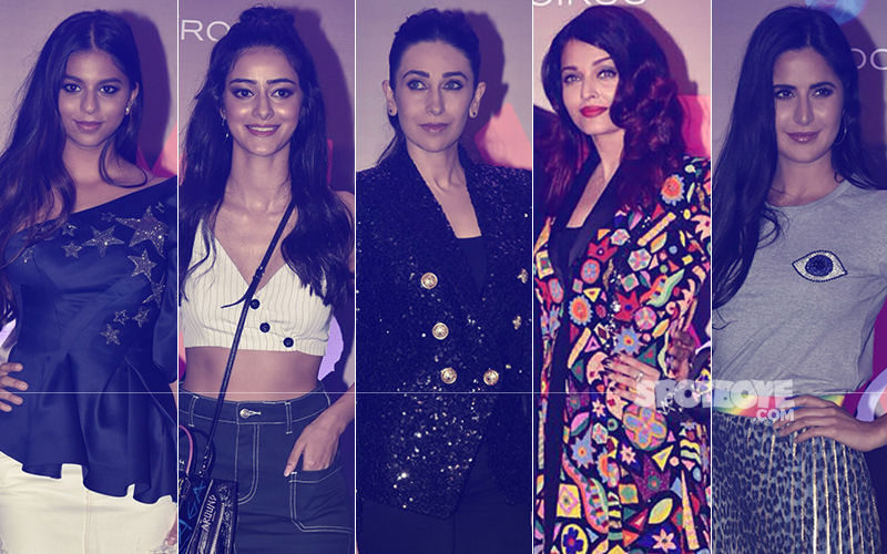 BEST DRESSED & WORST DRESSED At Shweta Bachchan's Fashion Label Launch: Suhana Khan, Ananya Panday, Karisma Kapoor, Aishwarya Rai Or Katrina Kaif?