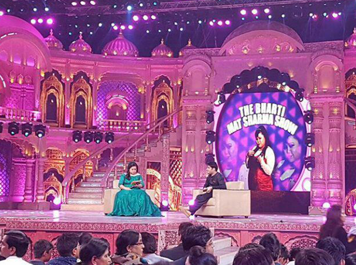 bharti singh and kapil sharma on lil champs