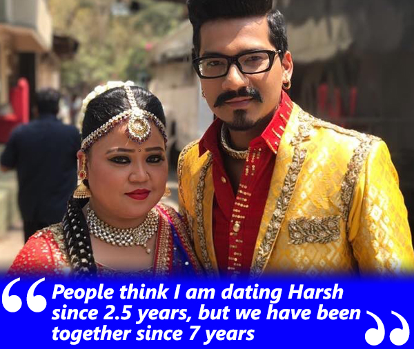bharti singh talks about her relation with harsh