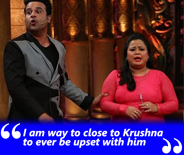 bharti singh talks about her relation with krushna abhishek