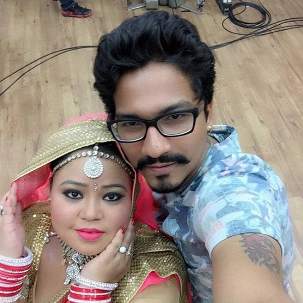 bharti singh with fiance