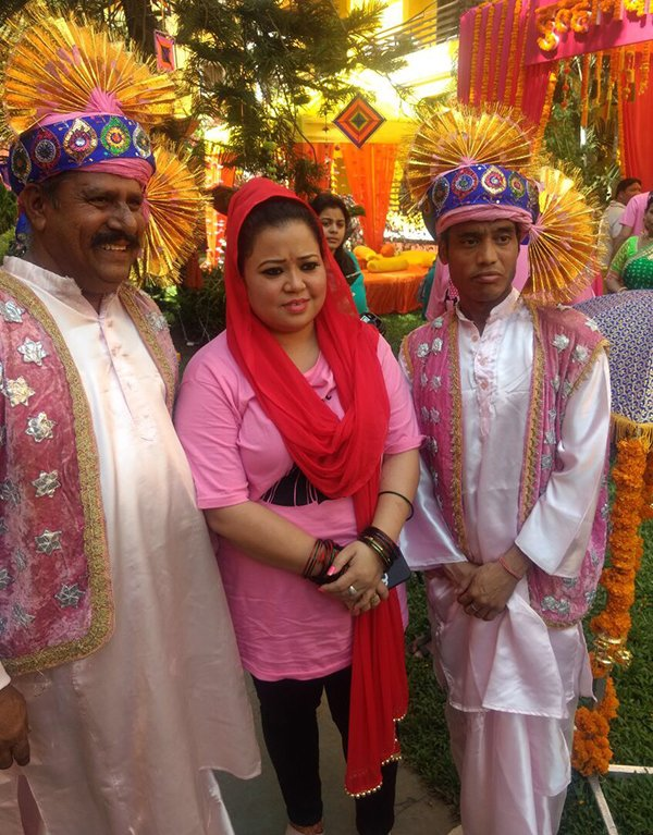 bharti singh gets ready for her mehendi ceremony