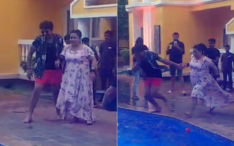 Bharti Singh & Haarsh Limbachiyaa's POOL PARTY VIDEOS Are Breaking The Internet!