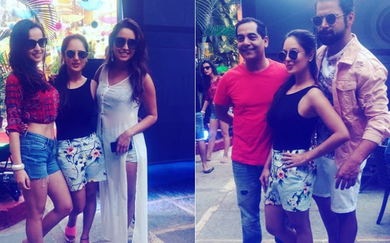 IT BEGINS! TV's Hottest Stars Make A Splash At Bharti Singh & Haarsh Limbachiyaa's Pool Party