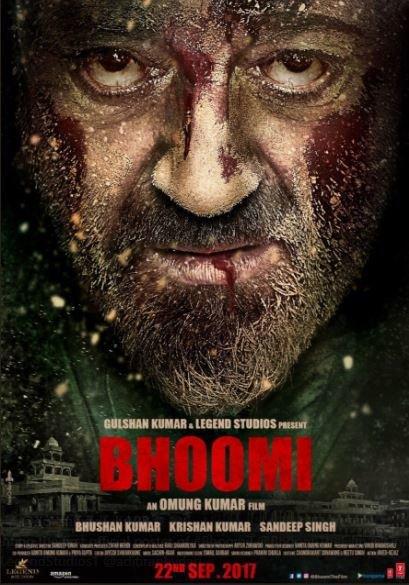 bhoomi poster sanjay dutt