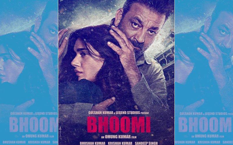 Bhoomi New Poster: Sanjay Dutt Plays A Protective Father To Aditi Rao Hydari