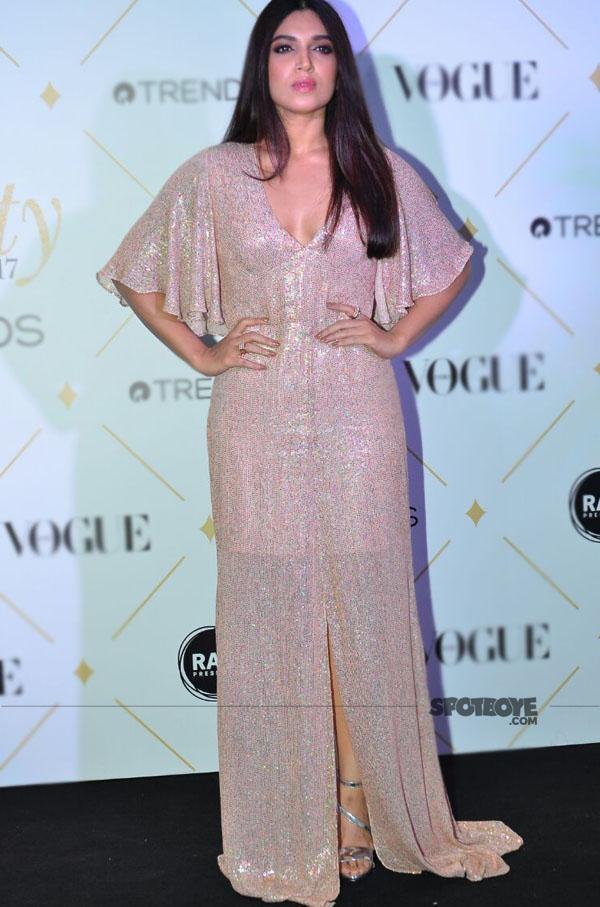 bhumi pednekar at vogue beauty awards 2017