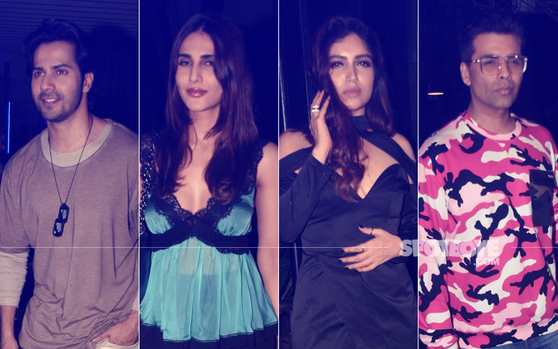 Bhumi Pednekar's Birthday Party: Varun Dhawan, Vaani Kapoor, Karan Johar Attend The Bash