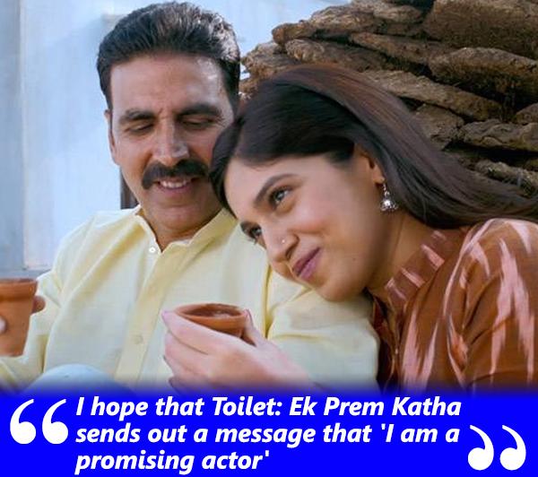 bhumi pednekar talks about her journey in her movie toilet ek prem katha