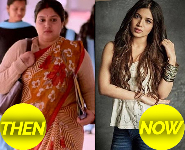 bhumi pednekar then and now