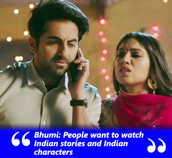 bhumi pendekar talks about the cinema preference of indian audience