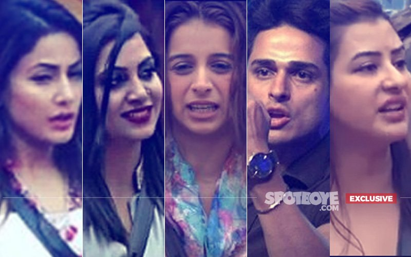 11 DIRTY MOMENTS OF BIG BOSS 11: Hina Khan, Arshi Khan, Benafsha Soonawalla, Priyank Sharma, Shilpa Shinde...
