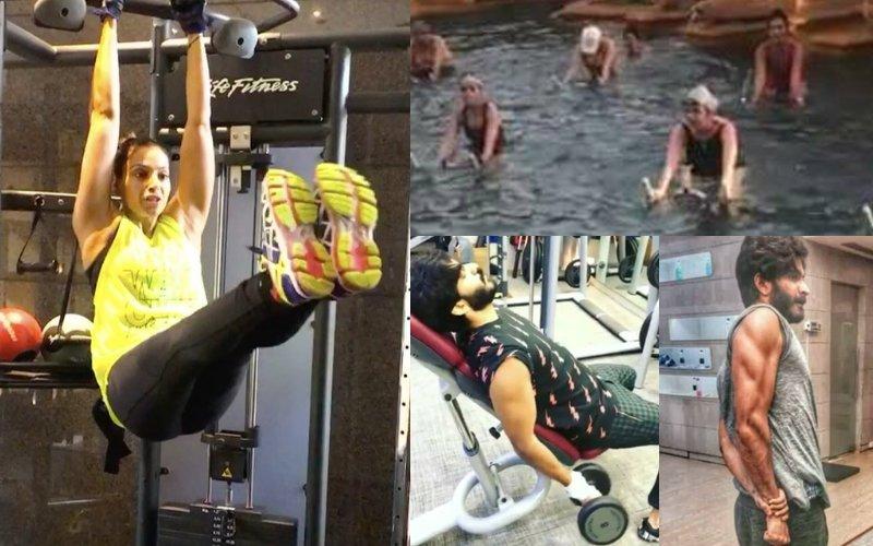 Workout Wednesday: Harshvardhan Kapoor, Bipasha Basu & Mandana Karimi Are Giving Us Major #FitnessGoals