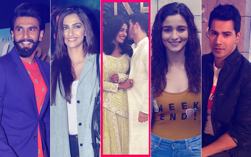 Priyanka Chopra-Nick Jonas Make It Official: Ranveer Singh, Sonam Kapoor, Hrithik Roshan, Varun Dhawan, Alia Bhatt Send Congratulations
